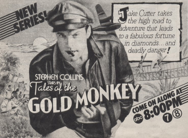 Tales of the Gold Monkey ad