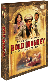 Tales of the Gold Monkey DVD